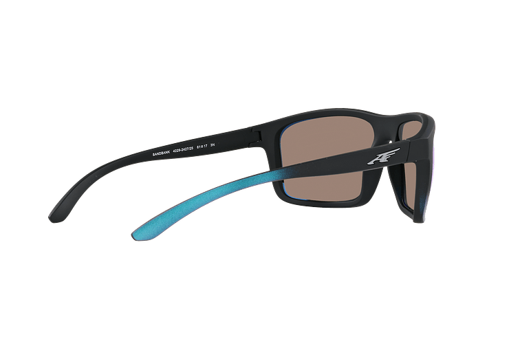 Arnette Sandbank Black Gradient Shot Blue lente Green Mirror cod. AN4229 242725 61 - Image 8