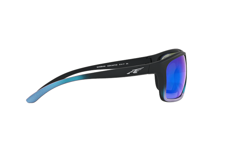 Arnette Sandbank Black Gradient Shot Blue lente Green Mirror cod. AN4229 242725 61 - Image 9