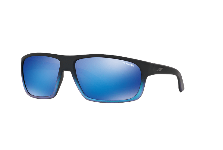 Arnette Burnout Black Gradient Shot Blue lente Green Mirror cod. AN4225 242725 64 - Image 1