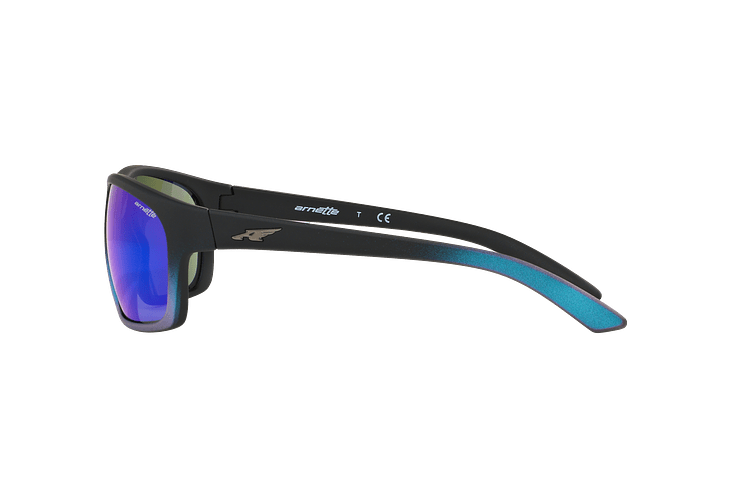 Arnette Burnout Black Gradient Shot Blue lente Green Mirror cod. AN4225 242725 64 - Image 3