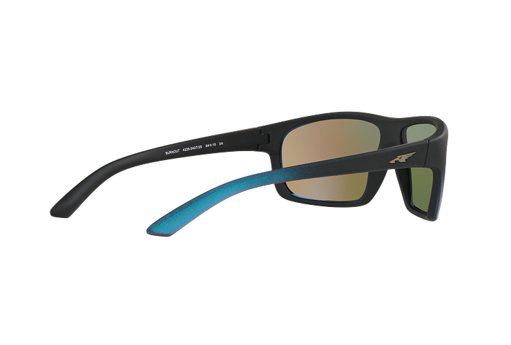 Arnette Burnout Black Gradient Shot Blue lente Green Mirror cod. AN4225 242725 64 - Image 8
