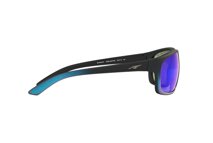 Arnette Burnout Black Gradient Shot Blue lente Green Mirror cod. AN4225 242725 64 - Image 9
