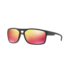 Arnette Brapp Matte Black lente Red Multilayer cod. AN4239 01/6Q 62