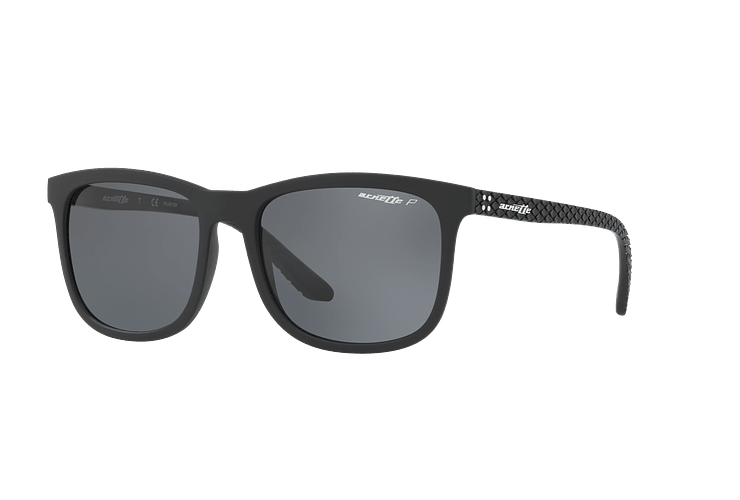 Arnette Chenga Matte Black lente Grey Polarized cod. AN4240 01/81 56 - Image 1