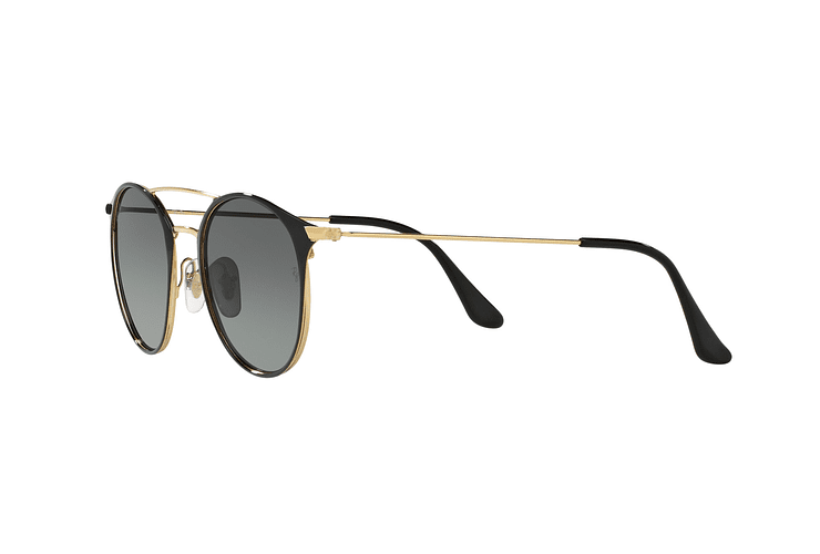Ray Ban Round RB3546 Gold Top Black lente Grey Gradient cod. RB3546 187/71 49 - Image 2
