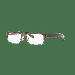 Armazón óptico Armani Exchange AX1015 Brown Blue cod. AX1015 6069 52