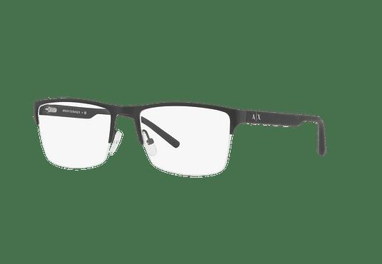 Armazón óptico Armani Exchange AX1026 Matte Black cod. AX1026 6063 54