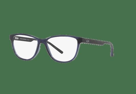 6f862a59a5 Ver más detalles · Armazón óptico Armani Exchange AX3047 Transparent Blue  cod. AX3047 8237 53