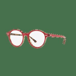 Armazón óptico Ray-Ban Dean Top Bordeaux On Havana Green cod. RX7118 5714 48