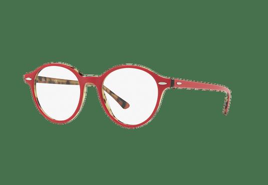 Armazón óptico Ray Ban Dean Top Bordeaux On Havana Green cod. RX7118 5714 48