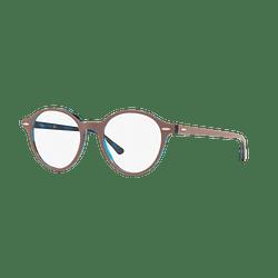 Armazón óptico Ray Ban Dean Top Light Brown On Havana Blue cod. RX7118 5715 50