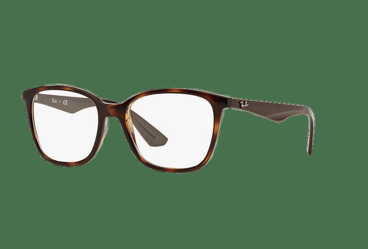 Armazón óptico Ray Ban RX7066 Shiny Havana cod. RX7066 5577 52 - Image 1