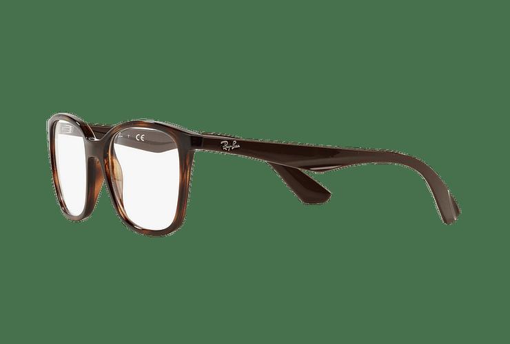 Armazón óptico Ray Ban RX7066 Shiny Havana cod. RX7066 5577 52 - Image 2
