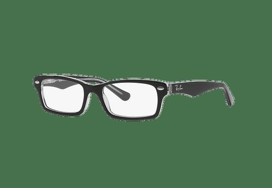 Armazón óptico Ray Ban Junior RY1530 Top Black On Transparent cod. RY1530 3529 48 (Producto para Niños)