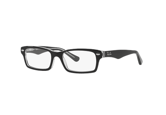 3093dabf90 Armazón óptico Ray Ban Junior RY1530 Top Black On Transparent cod. RY1530  3529 48 (