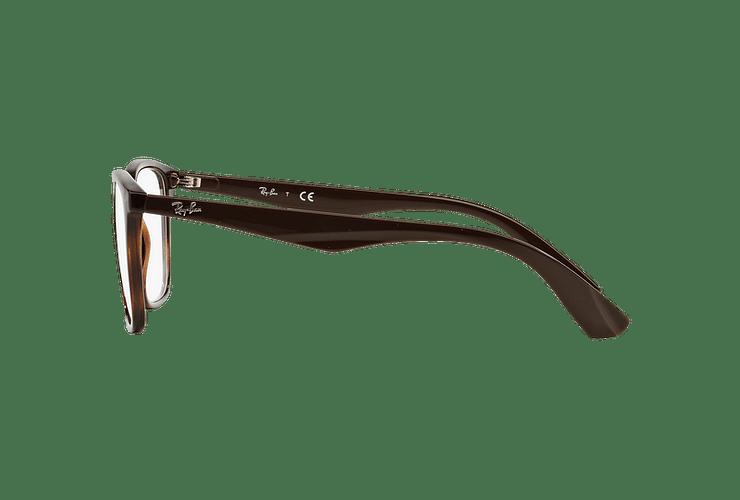 Armazón óptico Ray Ban RX7066 Shiny Havana cod. RX7066 5577 52 - Image 3