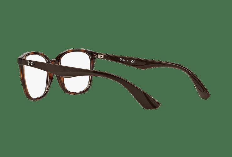 Armazón óptico Ray Ban RX7066 Shiny Havana cod. RX7066 5577 52 - Image 4