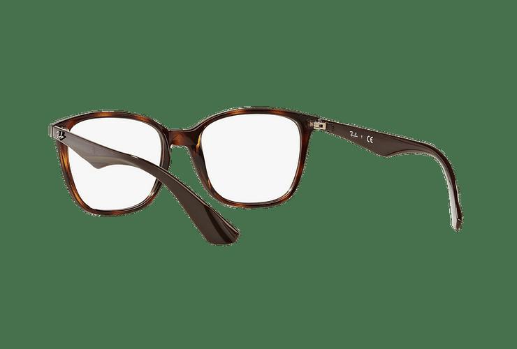 Armazón óptico Ray Ban RX7066 Shiny Havana cod. RX7066 5577 52 - Image 5