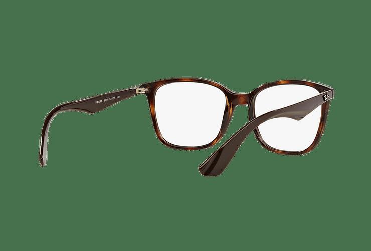 Armazón óptico Ray Ban RX7066 Shiny Havana cod. RX7066 5577 52 - Image 7