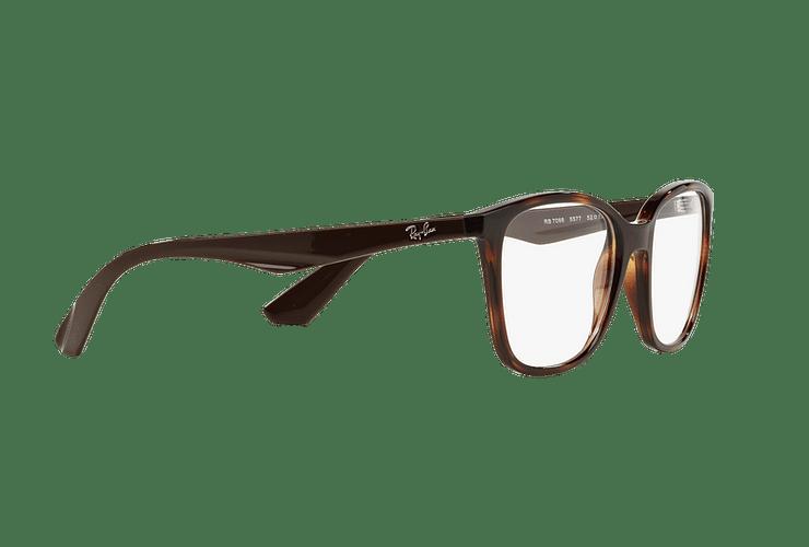 Armazón óptico Ray Ban RX7066 Shiny Havana cod. RX7066 5577 52 - Image 10