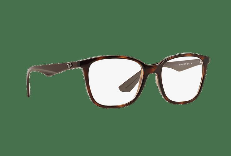Armazón óptico Ray Ban RX7066 Shiny Havana cod. RX7066 5577 52 - Image 11