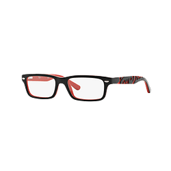 Armazón óptico Ray Ban Junior RY1535 Top Black On Red cod. RY1535 3573 48 (Producto para Niños)