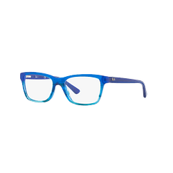 Armazón óptico Ray Ban Junior RY1536 Blue Striped Gradient cod. RY1536 3731 48 (Producto para Niños)