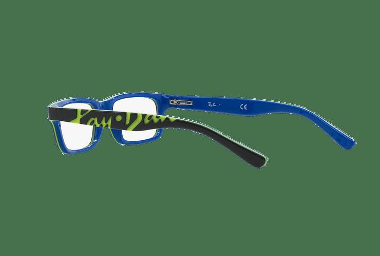 Armazón óptico Ray Ban Junior RY1535 Top Dark Grey On Blue cod. RY1535 3600 48 (Producto para Niños) - Image 4