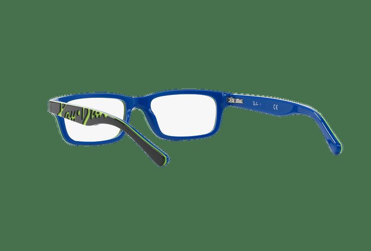 Armazón óptico Ray Ban Junior RY1535 Top Dark Grey On Blue cod. RY1535 3600 48 (Producto para Niños) - Image 5