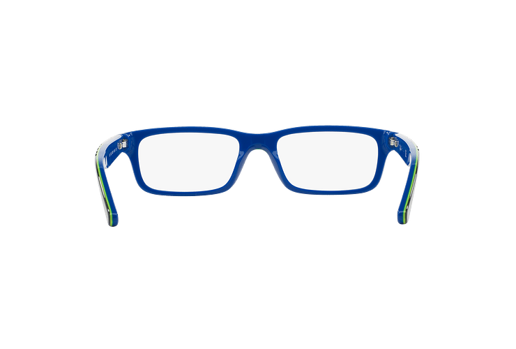 Armazón óptico Ray Ban Junior RY1535 Top Dark Grey On Blue cod. RY1535 3600 48 (Producto para Niños) - Image 6