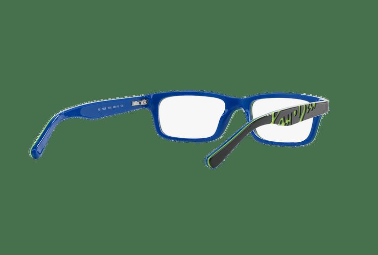 Armazón óptico Ray Ban Junior RY1535 Top Dark Grey On Blue cod. RY1535 3600 48 (Producto para Niños) - Image 7