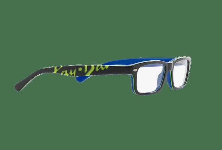 Armazón óptico Ray Ban Junior RY1535 Top Dark Grey On Blue cod. RY1535 3600 48 (Producto para Niños) - Image 10