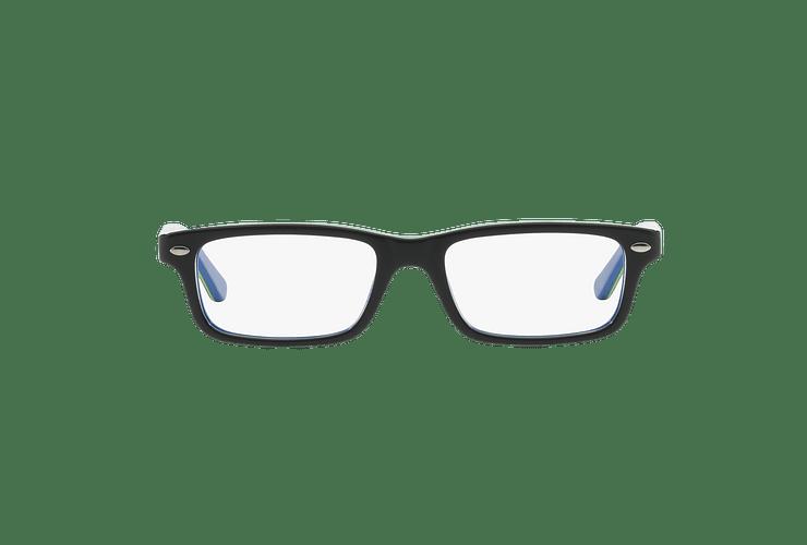 Armazón óptico Ray Ban Junior RY1535 Top Dark Grey On Blue cod. RY1535 3600 48 (Producto para Niños) - Image 12