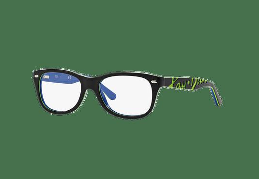 Armazón óptico Ray Ban Junior RY1544 Top Dark Grey On Blue cod. RY1544 3600 48 (Producto para Niños)