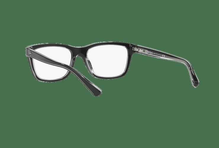 Armazón óptico Ray Ban Junior RY1536 Top Black On Transparent cod. RY1536 3529 48 (Producto para Niños) - Image 5