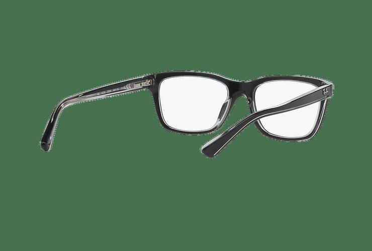 Armazón óptico Ray Ban Junior RY1536 Top Black On Transparent cod. RY1536 3529 48 (Producto para Niños) - Image 7