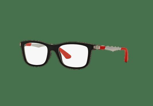 Armazón óptico Ray Ban Junior RY1549 Matte Black cod. RY1549 3652 46 (Producto para Niños)