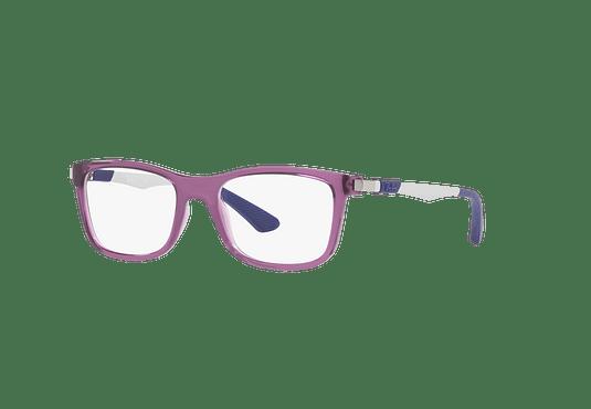 Armazón óptico Ray Ban Junior RY1549 Trasparent Blue cod. RY1549 3735 46 (Producto para Niños)