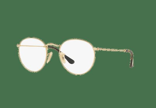 Armazón óptico Ray Ban Round Metal Gold cod. RX3447V 2500 50