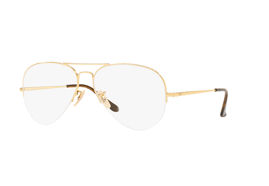 Armazón óptico Ray Ban Aviador RX6589 Gold cod. RX6589 2500 59