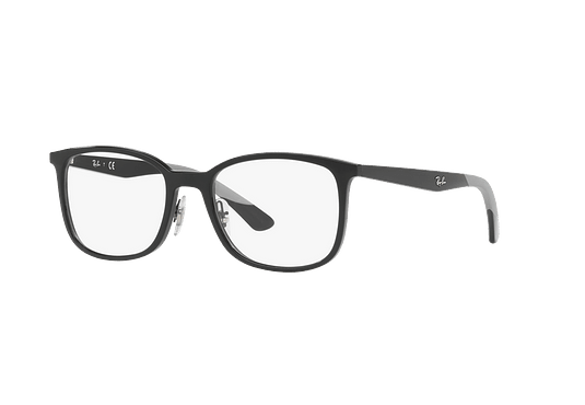 Armazón óptico Ray Ban Square RX7142 Shiny Black cod. RX7142 2000 52
