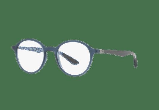 Armazón óptico Ray Ban Round RX8904 Matte Blue cod. RX8904 5262 50