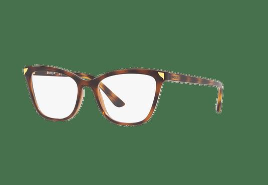 Armazón óptico Vogue Metallic Beat VO5206 Havana/Light Brown cod. VO5206 2386 53