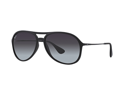 Ray Ban Alex Rubber Black lente Grey Gradient cod. RB4201 622/8G 59