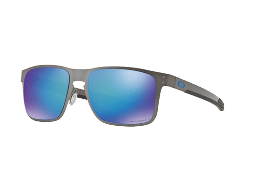 Oakley Holbrook Metal Matte Gunmetal lente Sapphire Prizm y Polarized cod. OO4123-0755