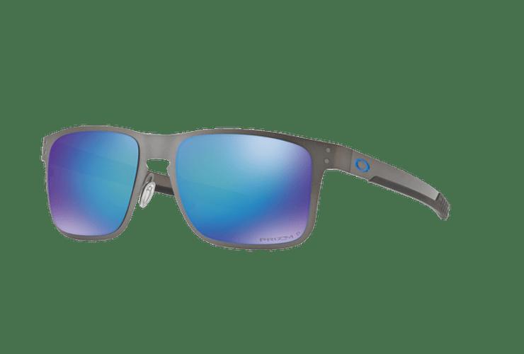 ce6c710361 Oakley Holbrook Metal Matte Gunmetal lente Sapphire Prizm...