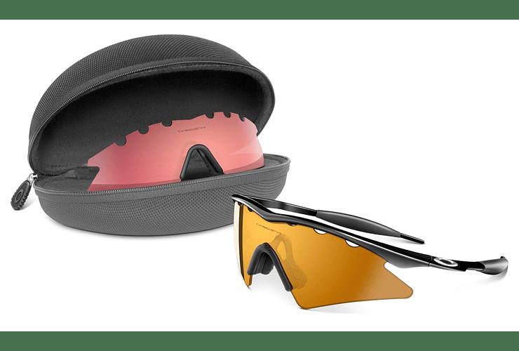 Estuche Oakley Soft Vault M-Frame case color negro cod. 07-015