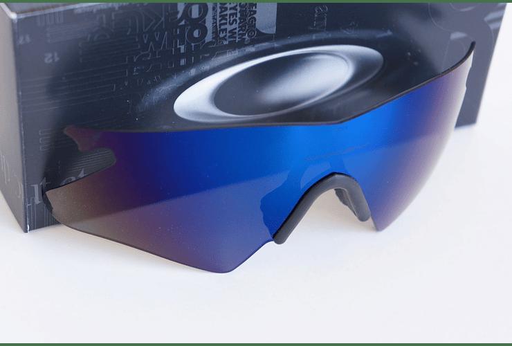Lentes de repuesto OAKLEY M-Frame HEATER Color ICE IRIDIUM Cod. 06-242 - Image 1