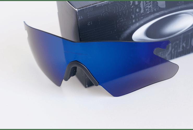 Lentes de repuesto OAKLEY M-Frame HEATER Color ICE IRIDIUM Cod. 06-242 - Image 2