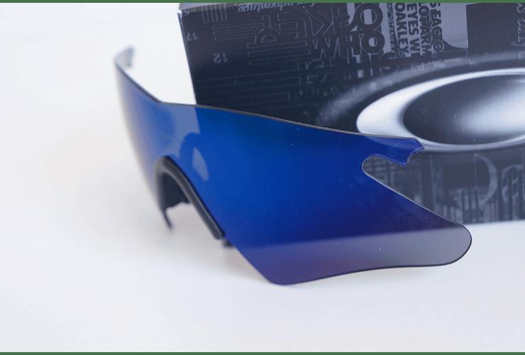 Lentes de repuesto OAKLEY M-Frame HEATER Color ICE IRIDIUM Cod. 06-242 - Image 3